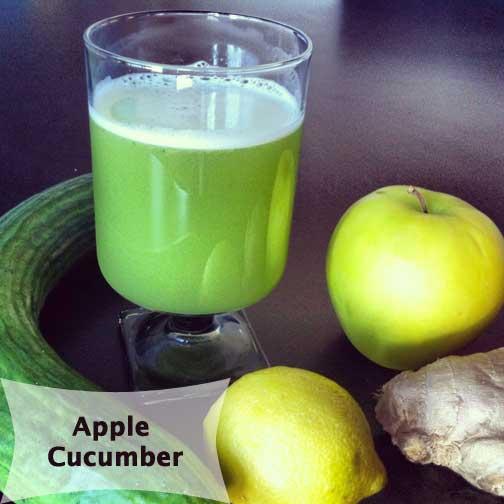 Cucumber Juice Slow Juicer : Apple Cucumber Juice MishMash Globe
