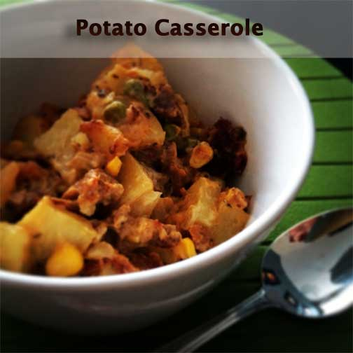 Potato Casserole | MishMash Globe