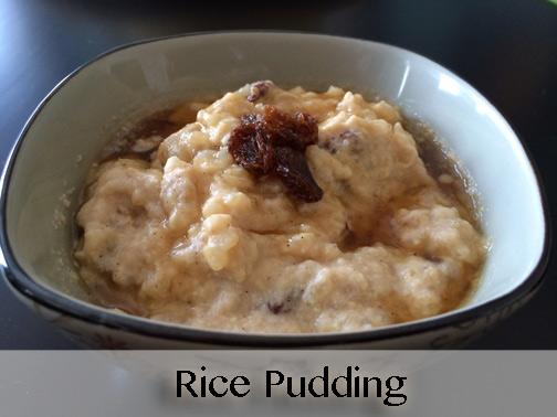 MishMash Globe | Rice Pudding