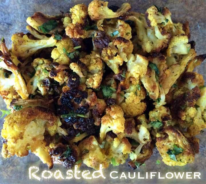 MishMash Globe | Roasted Cauliflower
