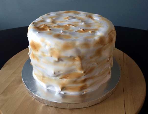 MishMash Globe | Lemon Meringue Cake